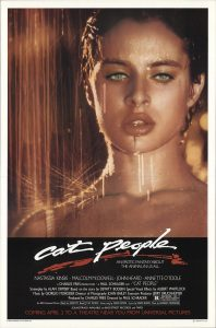 Cartel de la película 'Cat People', 1982