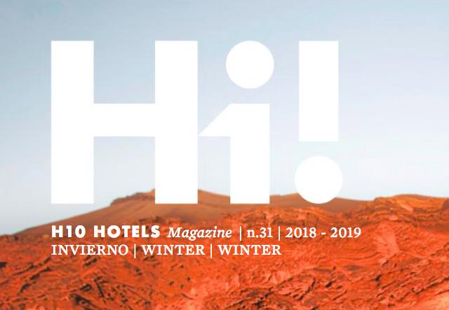 Hi! H10 Hotels Magazine